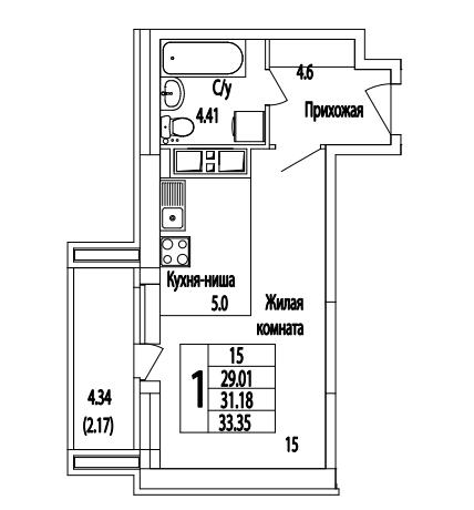 Видный берег квартиры официальный планировка